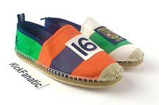 Polo Ralph Lauren Barron Espadrilles shoes slip on 100% cotton Men's Size 13