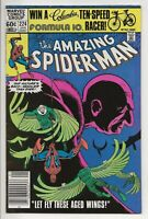 AMAZING SPIDER-MAN #224 VF/NM (Marvel Comics 1982) Vulture App / Let Fly These..