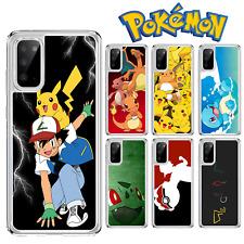 Pokemon Pikachu Squirtle caso para Samsung Galaxy A10 A40 S10 S20 A41 A51 A21S
