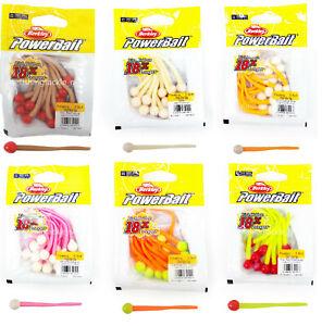 "Berkley Floating Mice Tails Powerbait 13 per Pack 3"" Trout/Perch Bait All Colour"