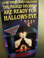 HALLOWS EVE Rare 1987 Promo Poster MONUMENT - Mighty Decibels