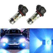 2x 9006 HB4 2323 100W LED High Power 8000K Ice Blue Fog/Driving light Bulb New