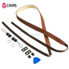 CANPIS Brown Leather Shoulder Neck Camera Strap For Canon Sony Nikon 08