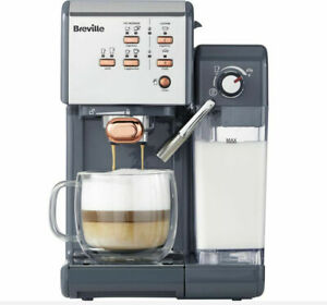 BREVILLE One-Touch VCF109 Coffee Machine - Graphite Grey & Rose Gold -