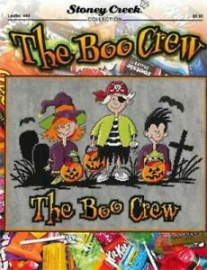 The Boo Crew LFT449 by Stoney Creek cross stitch pattern
