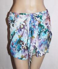 HEART ON FIRE Designer Floral Wrap Skirt Size 8-XS BNWT #SQ57
