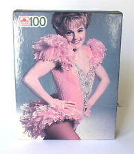 "NIB Elizabeth Manley Puzzle Figure Skating Skater 100 Pieces Golden 11.5"" x 15"""