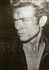James Dean 27x39 Vintage Black & White Close Up Celebrity Poster