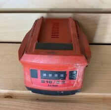 Hilti B18 5.2 Ah Li-Ion Rechargeable Battery CPC, Used, 18 Volt 5.2Ah Battery.