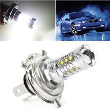 2pcs H4 LED Bulb HID White 360°Hi/Low Beam Motorcycle Headlight 6000K High Power