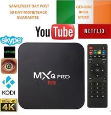 Genuine MXQ Pro Vers 17.1 Android 6 Smart TV Box 4K Quad Core S905X Fully setup