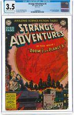 Strange Adventures #2 CGC VG- 3.5 from 1950