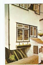 Postcard The House on Props, Polperro Cornwall UP    (A18)