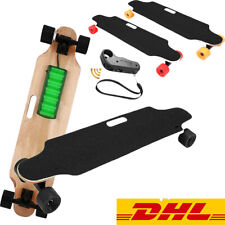 Elektro Skateboard Elektrisch Longboard E-Scooter mit Fernbedienung 350 W Motor
