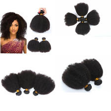 Morningsilkwig Natural Afro Kinky Curly Hairs 100g 12inches Brazilian Virgin Hai