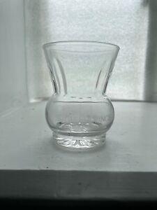 Vintage Thistle Shaped Scotch Whisky Glass Glenmorangie Single Highland Malt