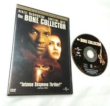 The Bone Collector (DVD, 2000, Anamorphic Widescreen) free shipping