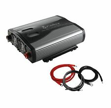 NEW! Cobra CPI1575 1500 Watt 3 Outlets DC To AC Car Power Inverter w/ Cable Kit