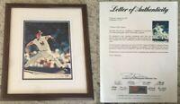 David Cone New York Yankees Autograph photo photograph Framed LOA/COA PSA DNA