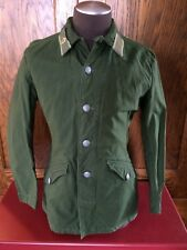 Vintage Swedish C46 Field Military Army Jacket Worker Chore Green S