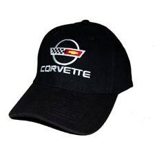 C4 Corvette Black Brushed Cotton Hat