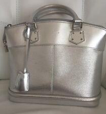 Louis Vuitton Suhali PM Silver Bag
