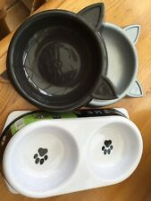 Cats Feeding Bowls X4