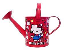 HELLO Kitty per bambini giardino annaffiatoio (metallo). PER PERFETTO GIARDINAGGIO