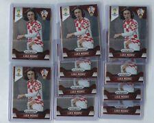 Lot of 10 2014 Panini Prizm World Cup Luka Modric #118