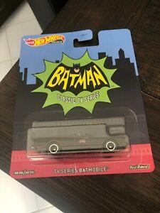 Hot Wheels Batman TV Series Batmobile 1:64 Scale Die Cast Premium Classic