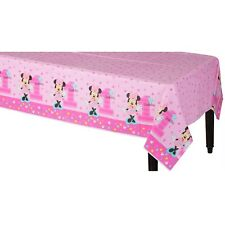 Minnie Mouse Fun to Be One 1st First Birthday Party Tablecloth Table Cover