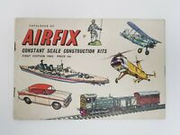 Airfix 1962 First 1st Edition Catalogue Constant Scale Construction Kits