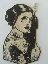 Large Jacket Patch Skull Tattoo Darth Princess Patch Leia Star Wars Inspired