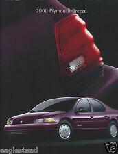 Auto Brochure - Plymouth - Breeze - 2000  (AB942)
