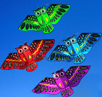NEW owl ainimal kite single line breeze outdoor fun sports for kids Delta kites