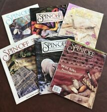 Lot Of 6 Vintage Spin Off Magazines 1984-2002