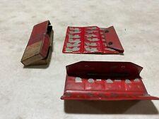 Starrett S167ah Radius Gage Set Withholder Missing 364 Extra Gage Set Also