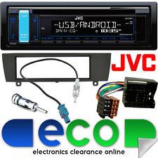 BMW 1 Series e87 2004 JVC CD mp3 USB AUX STEREO PER AUTO GRUPPO Fascia & kit di montaggio