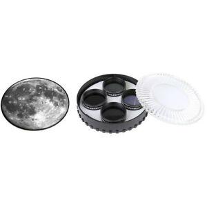 Celestron 1.25″ Moon Filter Set (4 x Filters + Moon Case) #94315 (UK Stock) BNIP