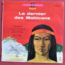 """LE DERNIER DES MOHICANS  25 CM 10""""   REGGIANI   NORMAN MAINE"""