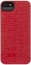 Étuis, housses et coques rouge iPhone 5s pour téléphone mobile et assistant personnel (PDA) à motifs