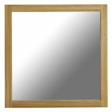Wood Frame Square Decorative Mirrors