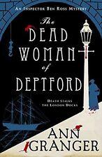 Ann Granger _____ des morts WOMAN DE DEPTFORD _____ étagère usure ___ GB