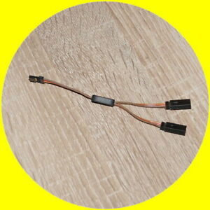 Original Graupner JR Servokabel V-Kabel Y-Kabel