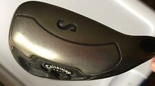 PRE-OWNED LADIES RH CALLAWAY FUSION WIDE SOLE SAND WEDGE - GRAPHITE SHAFT