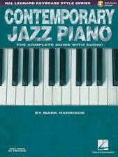 Contemporary Jazz Piano The Complete Guide with Audio Hal Leonard NEW 000311848