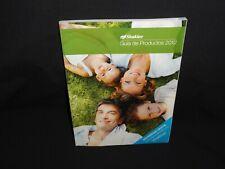 Shaklee Guia de Productos 2012, Catalogo