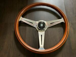 Nardi Classic Wood Steering Wheels Polished 365mm MX-5 From Japan