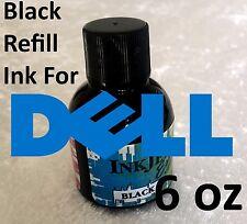 DELL Inkjet Black Ink Refill 6oz (192mL) Premium Black Ink