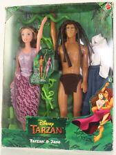 Mattel - Barbie Doll - Disney Tarzan & Jane Barbie Set *NM Box*